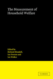 The Measurement of Household Welfare