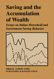Saving and the Accumulation of Wealth