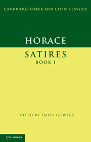 Horace: Satires Book I
