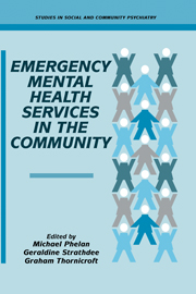 Emergency Mental Health Services in the Community
