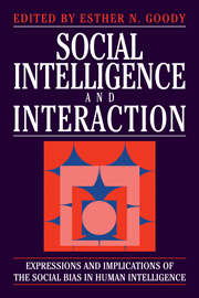 Social Intelligence and Interaction