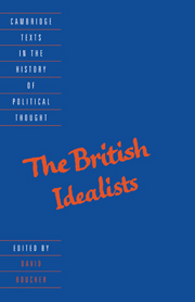 The British Idealists