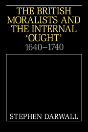 The British Moralists and the Internal 'Ought'