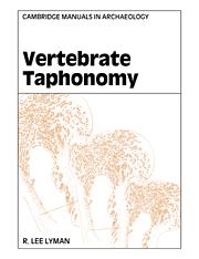 Vertebrate Taphonomy