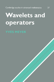 Wavelets and Operators
