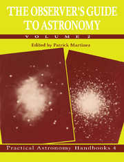 The Observer's Guide to Astronomy