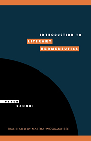 Introduction to Literary Hermeneutics