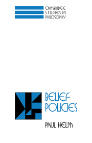 Belief Policies