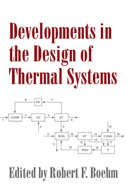 Developments in the Design of Thermal Systems