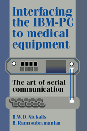 Interfacing the IBM-PC to Medical Equipment