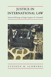 Justice in International Law