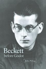 Beckett before Godot