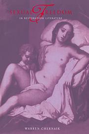 Sexual Freedom in Restoration Literature