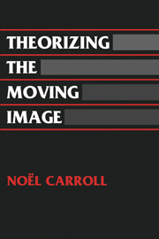 Theorizing the Moving Image
