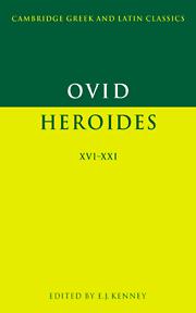 Ovid: Heroides XVI-XXI