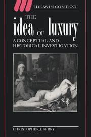 The Idea of Luxury