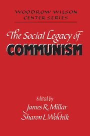 The Social Legacy of Communism