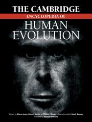 The Cambridge Encyclopedia of Human Evolution