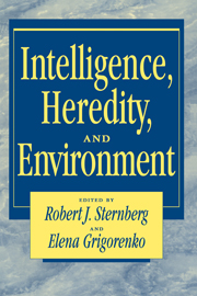 Intelligence, Heredity and Environment