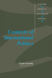 Contexts of International Politics