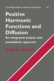 Positive Harmonic Functions and Diffusion