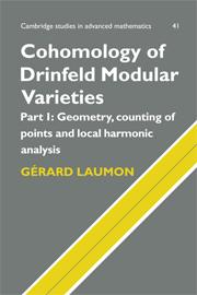 Cohomology of Drinfeld Modular Varieties