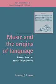 Music and the Origins of Language