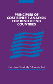 Principles of Cost-Benefit Analysis for Developing Countries