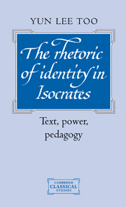 The Rhetoric of Identity in Isocrates