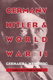 Germany, Hitler, and World War II