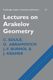Lectures on Arakelov Geometry