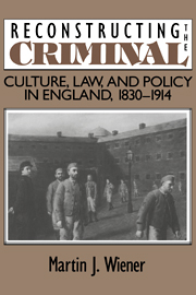 Reconstructing the Criminal
