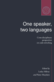 One Speaker, Two Languages