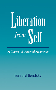 Liberation from Self