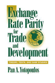 Exchange Rate Parity for Trade and Development