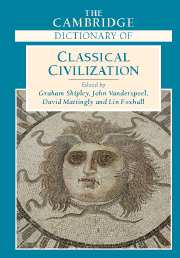 The Cambridge Dictionary of Classical Civilization