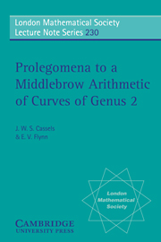 Prolegomena to a Middlebrow Arithmetic of Curves of Genus 2