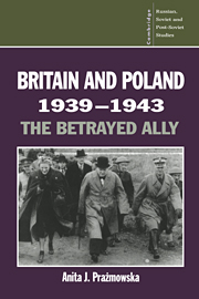 Britain and Poland 1939–1943