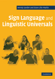 Sign Language subject university