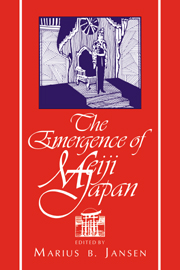 The Emergence of Meiji Japan