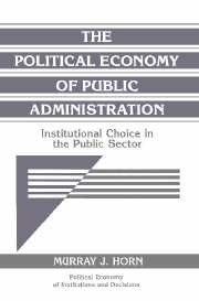 The Political Economy of Public Administration
