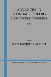 Advances in Economic Theory