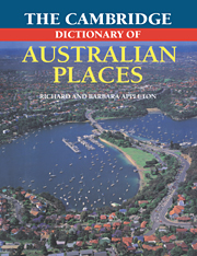 The Cambridge Dictionary of Australian Places