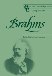 The Cambridge Companion to Brahms