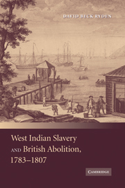 West Indian Slavery and British Abolition, 1783–1807