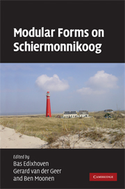 Modular Forms on Schiermonnikoog