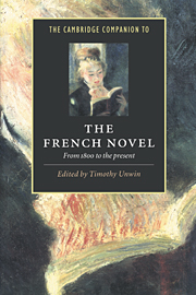 The Cambridge Companion to the French Novel
