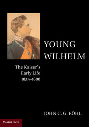 Young Wilhelm