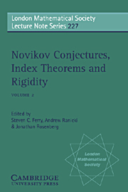 Novikov Conjectures, Index Theorems, and Rigidity