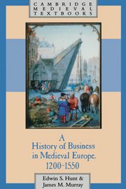 A History of Business in Medieval Europe, 1200–1550